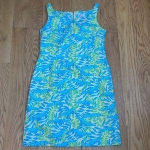 Lilly Pulitzer Alligator Print Shift Dress